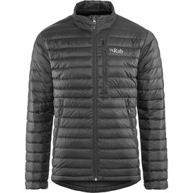 Rab Microlight Jacke Herren black/shark